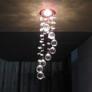 Modern LED Crystal Ceiling Lights
