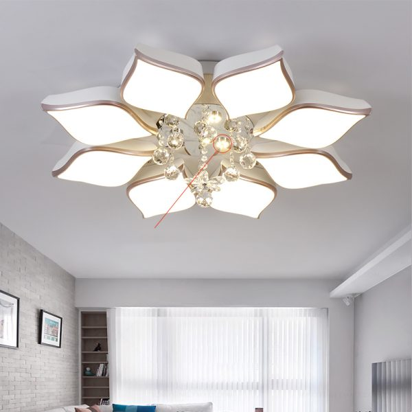 1087 57d182d9c87df8be9aca43170bc266d9 - Crystal Flower Chandelier Ceiling Lights | RadiantHomeLighting