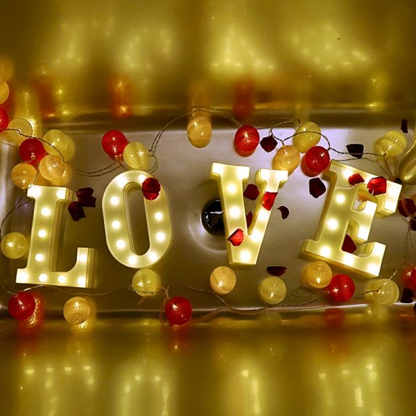 26 471d477a3a81386a0e07a3bfec48b098 - Luminous LED Letter Shaped Night Lights | RadiantHomeLighting