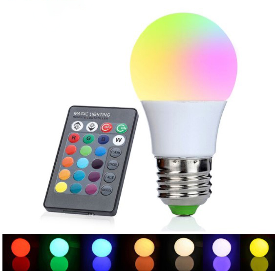 Remote Control LED Bulb Smart Lights