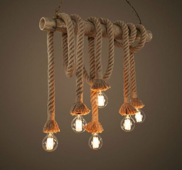 American Rustic Style Pendant Ceiling Lights
