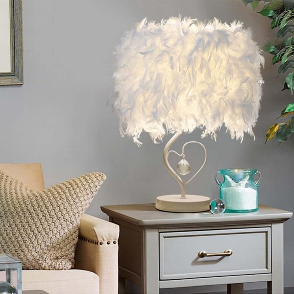 465 7195b28c2b68624d23ff88eccb781d56 - Elegant Reading Feather Desk Lamp | RadiantHomeLighting