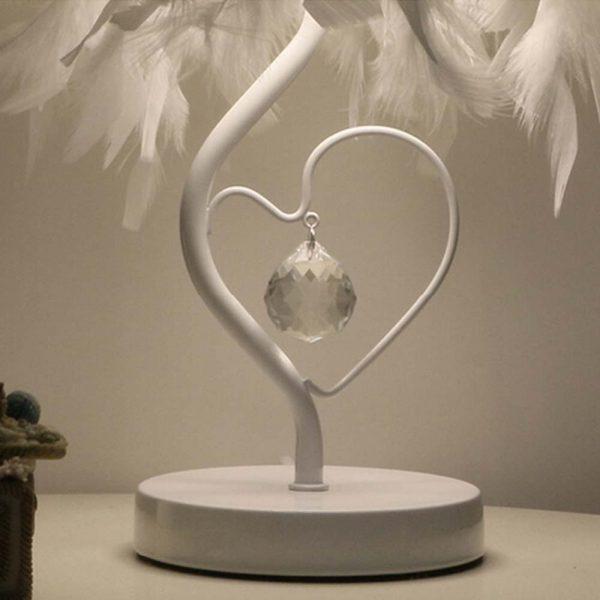465 ef3ae863b89131ba9d00a88c2c5740ee - Elegant Reading Feather Desk Lamp | RadiantHomeLighting