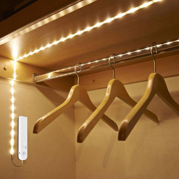 Motion Sensor Wardrobe LED Light Bar