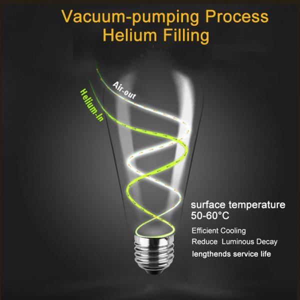 614 adb3db25b80c1e64711d90f33cad3c6c - Energy Saving LED Edison Light Bulb | RadiantHomeLighting
