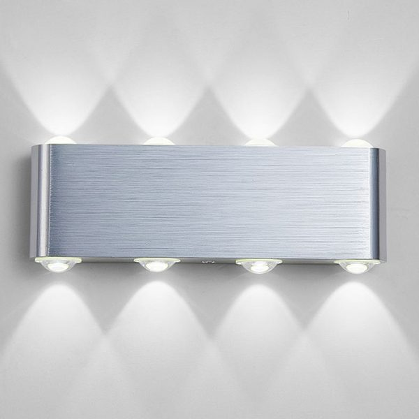 773 56112f7dee576d86c3d8f15af856134c - Creative White Aluminum LED Wall Lights | RadiantHomeLighting