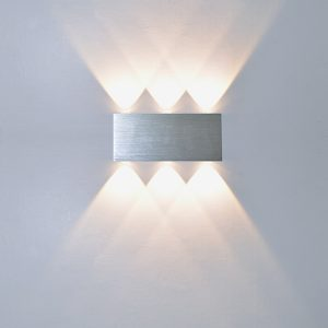 Creative White Aluminum LED Wall Lights