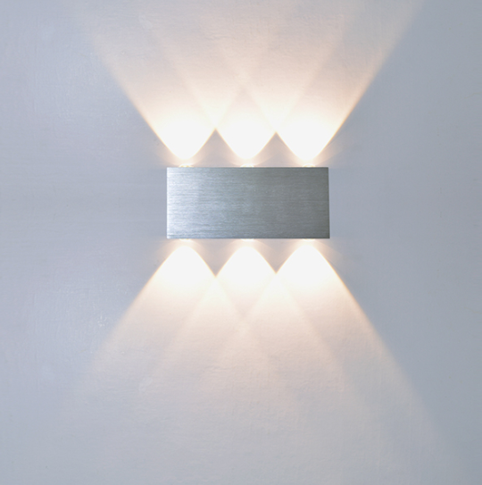 773 6f8343719f42ea4c18ee289e7ab324f4 - Creative White Aluminum LED Wall Lights | RadiantHomeLighting