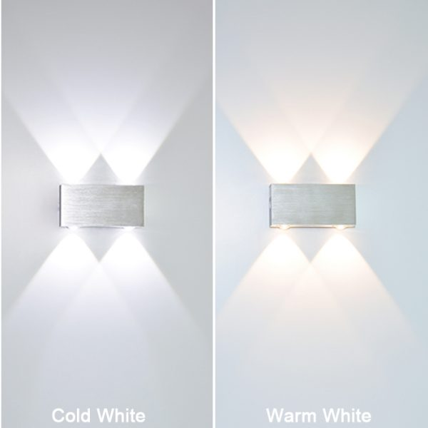 773 eaa181eee2fd66a7d72e5d1b231e501c - Creative White Aluminum LED Wall Lights | RadiantHomeLighting