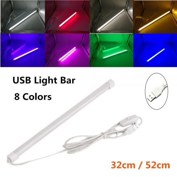 Colored USB LED Light Bar