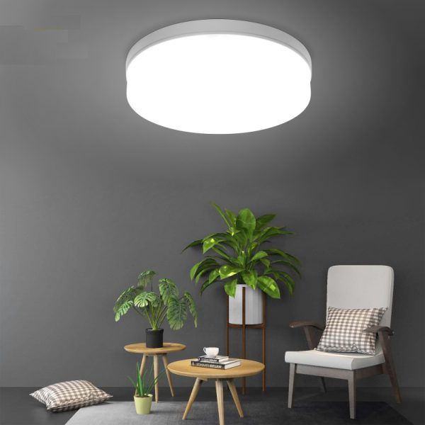 Modern Plastic LED Ceiling Lamp