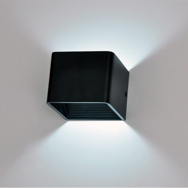 2349 oamid5 - Modern Square Aluminum LED Lamp | RadiantHomeLighting
