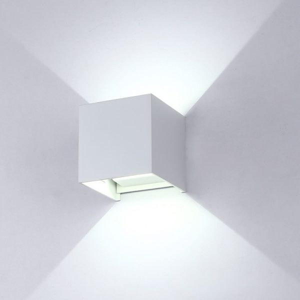 2349 rvhndf - Modern Square Aluminum LED Lamp | RadiantHomeLighting