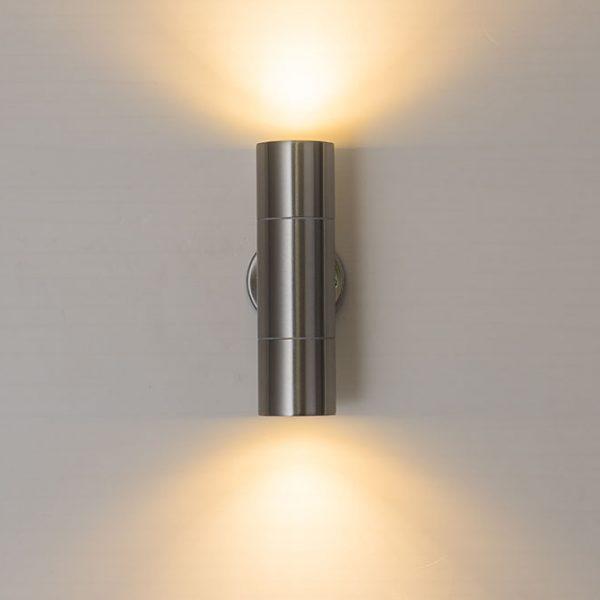 2421 8huezi - Double-Sided Cylinder Waterproof Outdoor Wall Lamp | RadiantHomeLighting