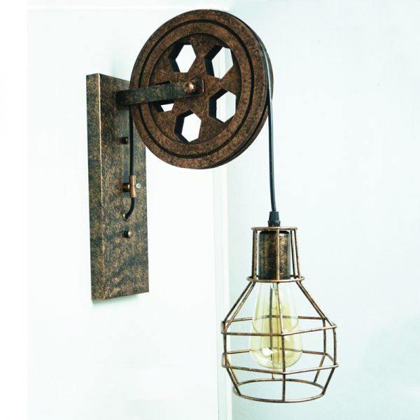 2430 gmdw1k - Retro Creative Wall Lamp | RadiantHomeLighting