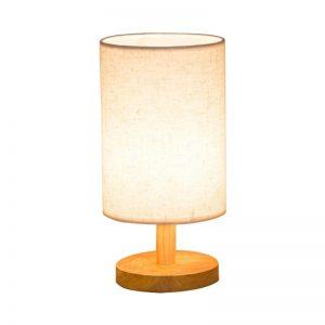 Modern Round Plastic Desk Lamp