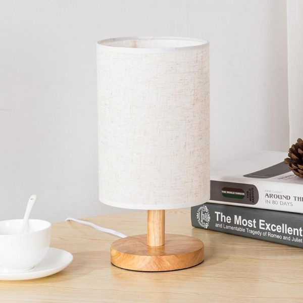 2600 ltnlva - Modern Round Plastic Desk Lamp | RadiantHomeLighting
