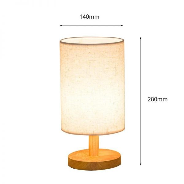 2600 wmzjnv - Modern Round Plastic Desk Lamp | RadiantHomeLighting