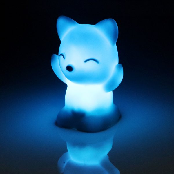 Chariming Fox Shaped Bedroom Lamp