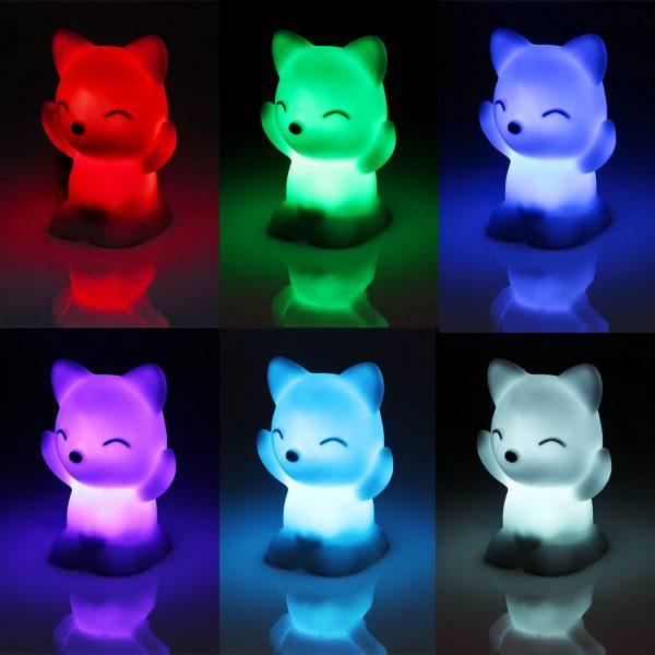 2621 og5div - Chariming Fox Shaped Bedroom Lamp | RadiantHomeLighting
