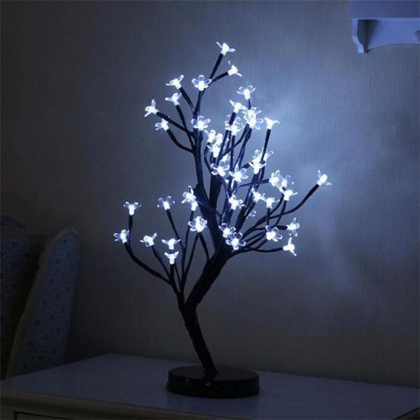 2655 mmc0zf - 48 LED Plum Blossom Desk Lights | RadiantHomeLighting