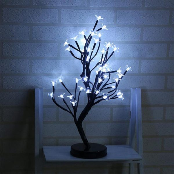 2655 pmrk6k - 48 LED Plum Blossom Desk Lights | RadiantHomeLighting
