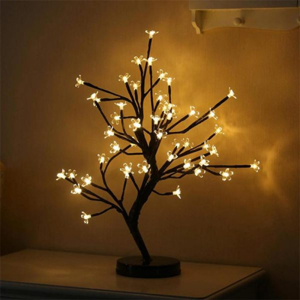 2655 t4csfj - 48 LED Plum Blossom Desk Lights | RadiantHomeLighting