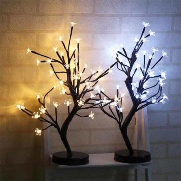 2655 zqoabt - 48 LED Plum Blossom Desk Lights | RadiantHomeLighting