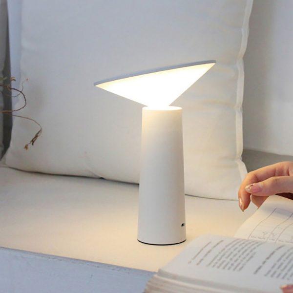 Modern Design Rechargable Battery Desk Lamp