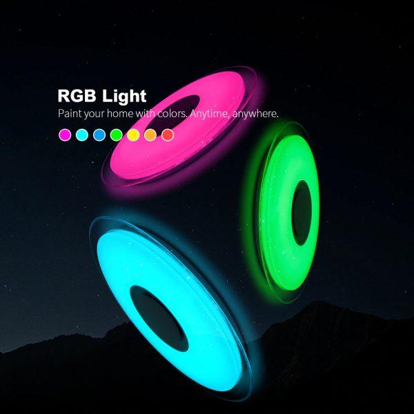 2676 0fuicg - Smart Round Metal Ceiling Light | RadiantHomeLighting