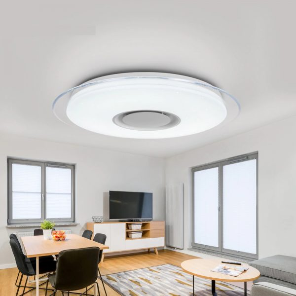 2676 - Smart Round Metal Ceiling Light | RadiantHomeLighting