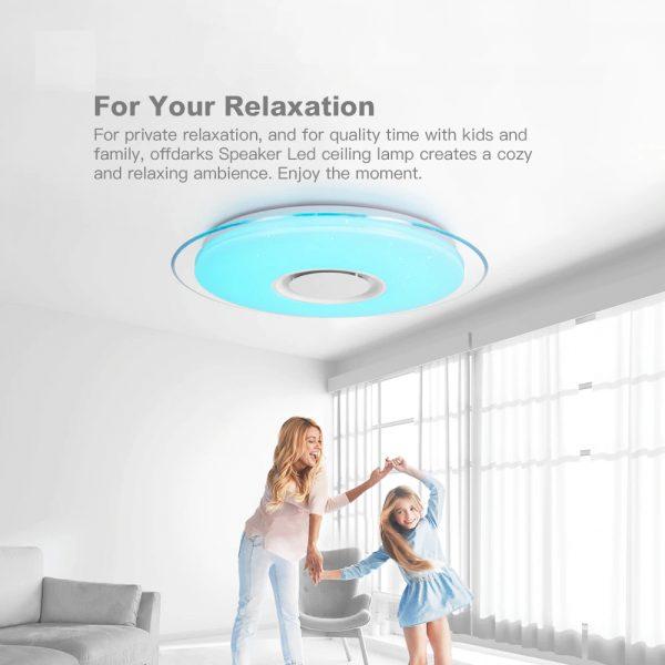 2676 rkodz7 - Smart Round Metal Ceiling Light | RadiantHomeLighting