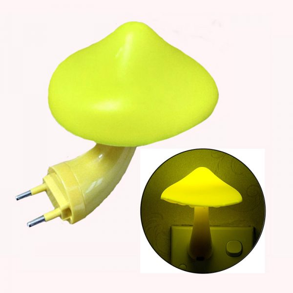 Mushroom Shaped Soft Light Night Lamp