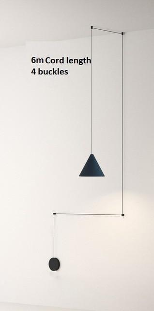 3686 - Simple Geometry LED Pendant Lighting | RadiantHomeLighting