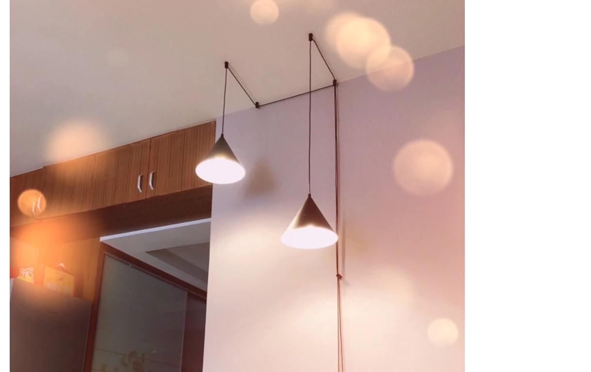 Simple Geometry LED Pendant Lighting