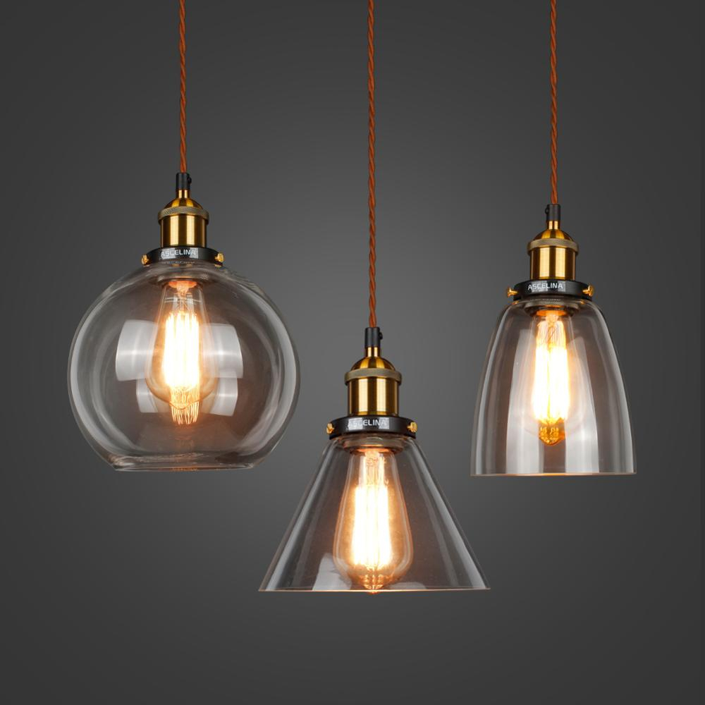 Loft Style Bronze Pendant Lighting