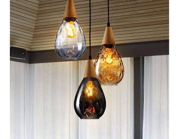 3756 dz0t4l - Water Drop Glass Pendant Lighting | RadiantHomeLighting