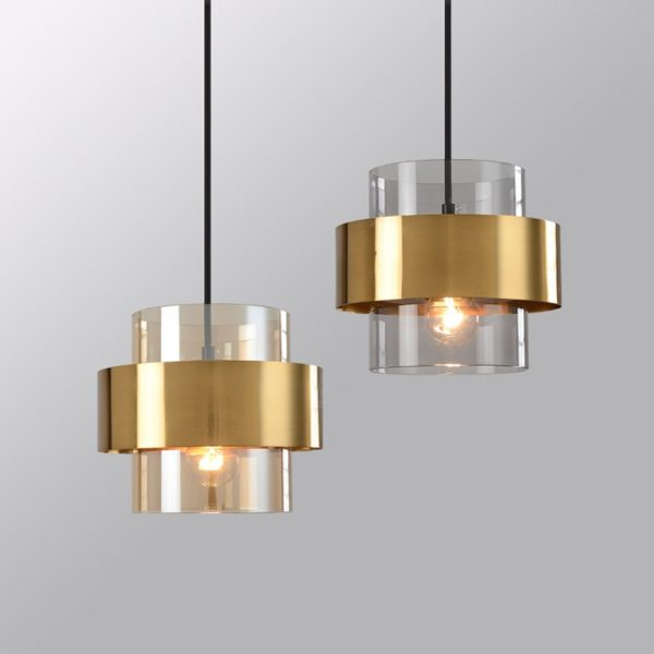 3777 - Nordic Style Golden Pendant Lighting | RadiantHomeLighting