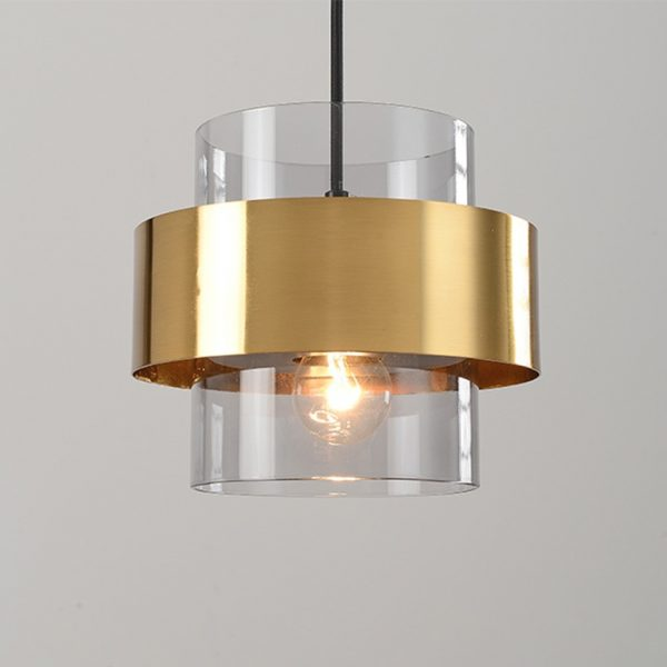 3777 tia4dl - Nordic Style Golden Pendant Lighting | RadiantHomeLighting