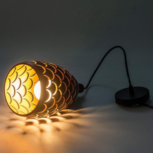 3780 agfhvl - Black Scale Pendant Lighting | RadiantHomeLighting