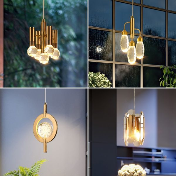 3785 0hw2be - Gold and Crystal Pendant Lighting | RadiantHomeLighting