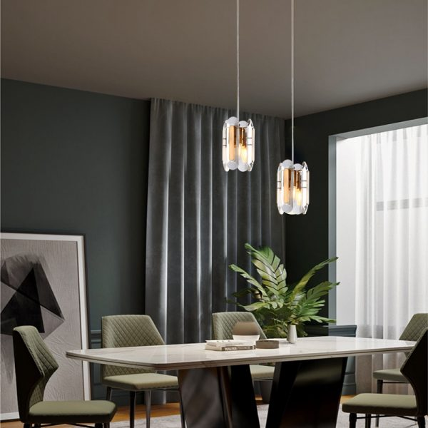 3785 udiapn - Gold and Crystal Pendant Lighting | RadiantHomeLighting