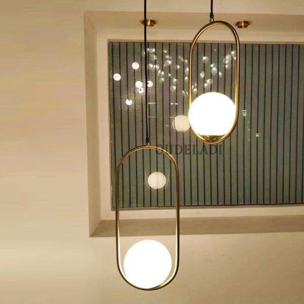 3795 wwktgh - Nordic Style Metal Frame Pendant Lighting | RadiantHomeLighting