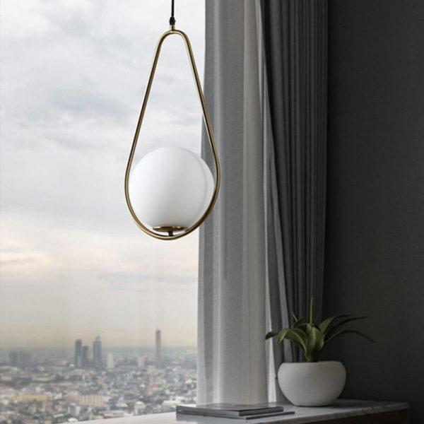 3795 - Nordic Style Metal Frame Pendant Lighting | RadiantHomeLighting