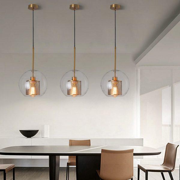 3845 nwffvl - Loft Style Glass Pendant Lighting | RadiantHomeLighting