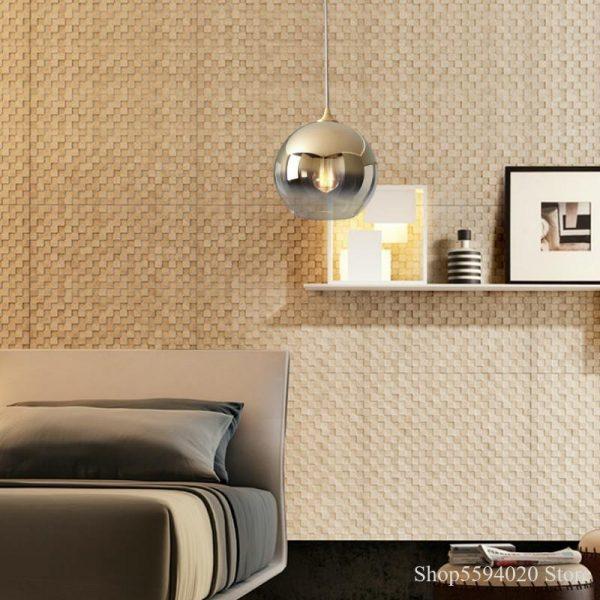 3871 v2r1lu - Nordic Style Champagne Pendant Lighting | RadiantHomeLighting