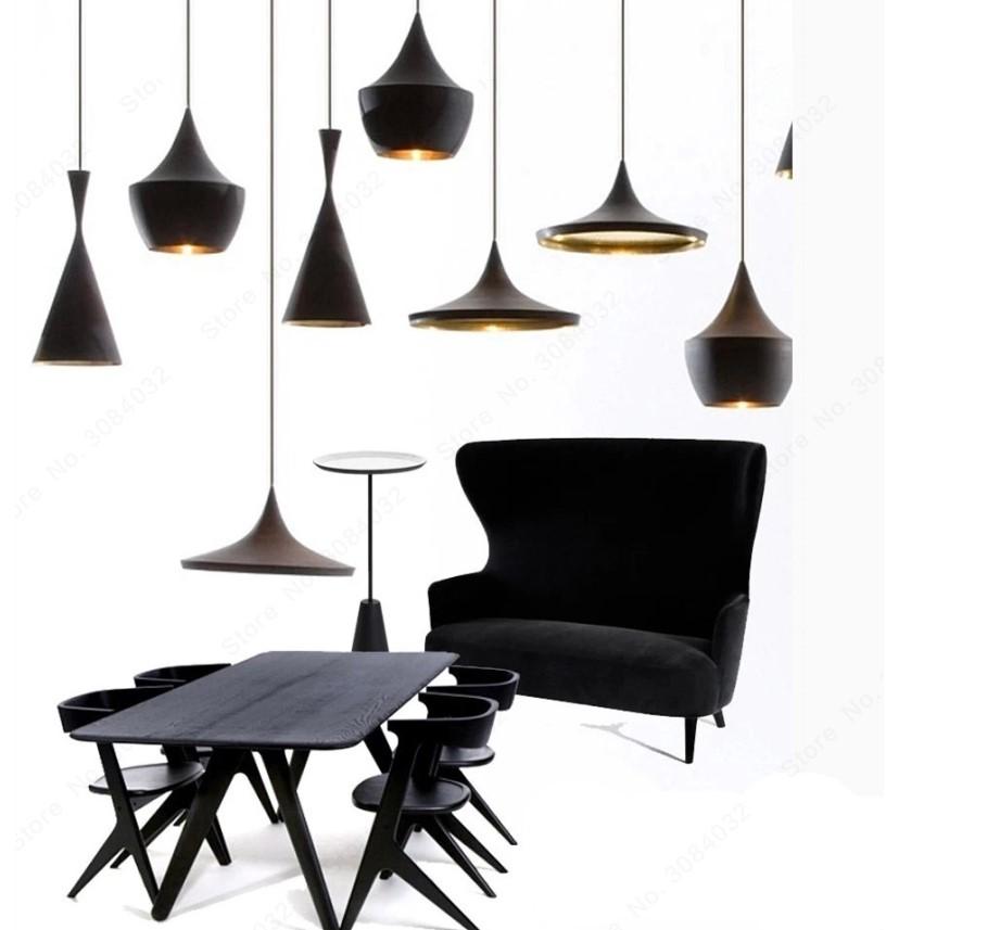 Nordic Style Golden Detail Pendant Lighting