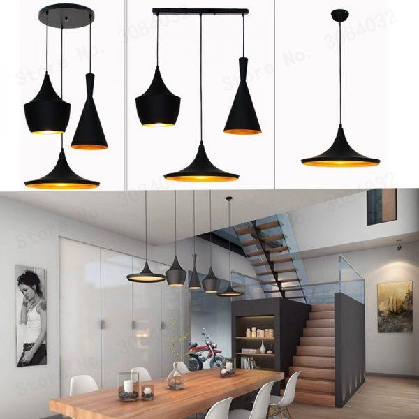 3902 ml0lpd - Nordic Style Golden Detail Pendant Lighting | RadiantHomeLighting