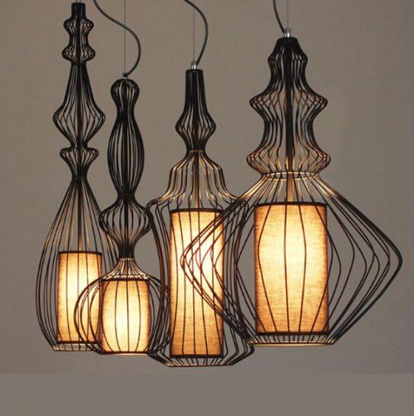 3913 9idafr - Silhouette Pendant Lighting | RadiantHomeLighting