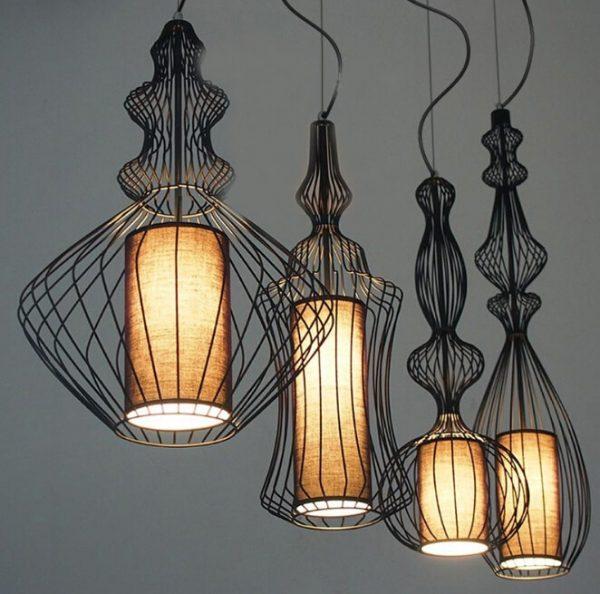 3913 jpsefi - Silhouette Pendant Lighting | RadiantHomeLighting